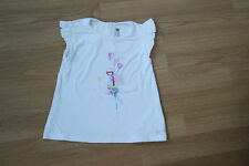 CATIMINI : tee-shirt manches courtes blanc - Taille 5 ans