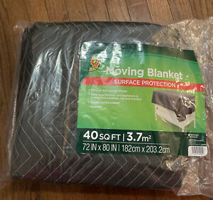 Duck Movers Blanket  40 SQ FT 72 IN X 80 IN  New
