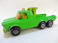 MATCHBOX 'SUPERKINGS K11 PICK-UP/TOW TRUCK'. GREEN. RARE PRE-PRODUCTION.
