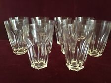 """Set of 10 Waterford Crystal SHEILA Water Glasses/ Tumblers 12 oz - 5"""""""""""