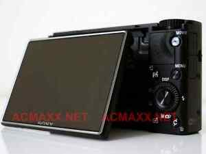 "ACMAXX 3"" HARD LCD SCREEN PROTECTOR Sony Cyber-shot RX100-IV RX100M4 Mark 4 DCS"