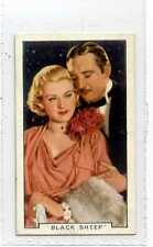 (Js393-100) Gallaher,Film Episodes,Black Sheep,1936 #8
