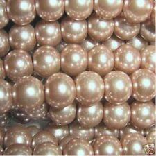 100 Pezzi 6mm vetro perle-Caffè-a0959