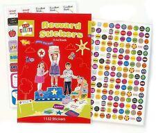 1000 Ank para niños niños recompensa pegatinas caras sonrientes gran trabajo bien hecho Estrellas