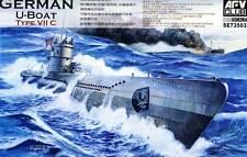 AFV-Club U-Boot U-96 U-558 U-201 Typ VIIC VII C 1:350 Modello kit U-Boat kit