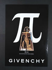 Givenchy - Pi - Eau de Toilette - Magazine Advert #B4004