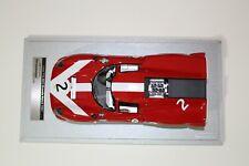 1967 Lola T70 MK3 #2  David Hobbs J. Surtees Tecnomodel 1:18 LONLY 90 PRODUCED!
