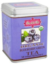 Brew La La - Organic Green Tea Blueberry - 50 Tea Bags