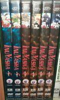 LOTTO 6 DVD DYNIT MANGA,INUYASHA ANIME 5 SERIE vl.2,6 + SESTA STAGIONE v.4,6,8,9