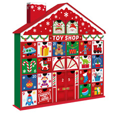 Christmas - Advent Calendar - House / Toy Shop - Add your own Treats