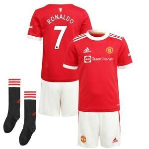 Maillot Enfant de Manchester United Domicile-Extérieur - Ronaldo