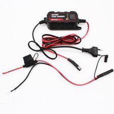 12/6V 1.2A Car Battery Charger Lead Acid Battery Maintainer Chargeur de batterie