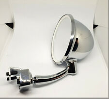FIAT 500 / 600 / MINI / BIANCHINA - Exterior chromed drop type mirror with clamp