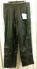 Men's Marmot PreCip Full Zip Pants, Size XL, Black, New