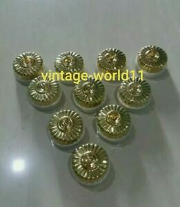 Vintage style Toggle brass cover switch porcelain  electric bras switch10 Piece