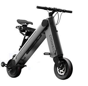 35KM Foldable Electric Bicycle Portable Scooter Adult Smart Mini Folding Bike