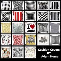 """18"""" Vintage Linen Cotton Cushion Cover Waist Throw Pillow Case Home Sofa Decor"""