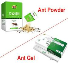 100% Killing Colony Of Black-Yellow-Red-Ant Bait Gel Powder Ant Killer Combo