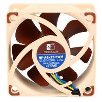 Noctua NF-A6x25 PWM 60mm x 60mm x 25mm A-Series Blade AAO Frame SSO2 Bearing Fan