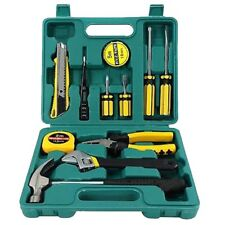 A&B HOMEWARE® High Quality Professional 12pcs Tool Set with Carry Box RRP £19.99