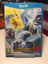 Nintendo Wii U Pokken Tournament Game Pokemon