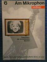 NORDMENDE Am Mikrophon 6 Tippomatic die sensationelle Neuheit H10767