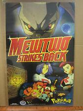 vintage Mewtwo Strikes BackPokemon 1998 Nintendo poster 3798
