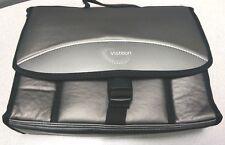 New grey black Visteon Apple iPad soft carry carrying travel traveling case bag