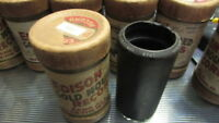 GRAND CONCERT BAND EDISON WAX CYLINDER RECORD 9703 RING OUT THE BELLS CHRISTMAS