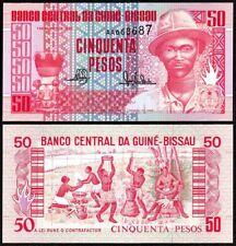 GUINEA BISSAU (1990) 50 Pesos P-10 UNC