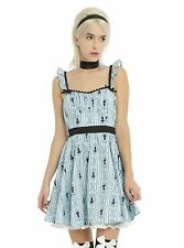 DISNEY's ALICE IN WONDERLAND RUFFLE BACK DRESS NWT Size Extra LARGE
