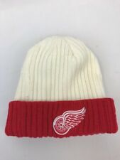NHL CCM Unisex Youth Detroit Red Wings Acrylic Knit Beanie Hat One Size