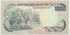 New listing South Vietnam Viet Nam 1000 dong Nd (1972) Elephants