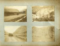 Russie, Le Caucase Vintage print. 4 photos 6 x 8 cm.  Tirage argentique  15x