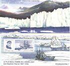 BLOC SOUVENIR PHILATELIQUE EMISSION COMMUNE FRANCE GROENLAND 2007 N° 34 CHARCOT