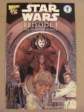 Star Wars Episode I #1/2 Wizard Dark Horse Comics 9.6 Near Mint+ 1999