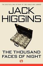 The Thousand Faces of Night by Jack Higgins (2010, Paperback)