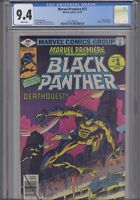 Marvel Premiere #51  CGC 9.4 1979 Marvel early Black Panther Comic: New Frame