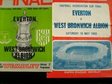 1968 FA CUP FINAL  EVERTON  V  WEST BROMWICH ALBION  +  SONG SHEET.
