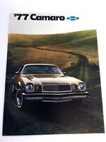 1977 Chevrolet Camaro Original Car Sales Brochure Catalog - Sport LT Z28