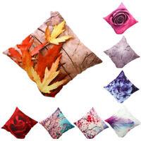 Luxe Housse de Coussin Fleur Taie d'oreiller Textiles Canapé Siège Décoration 枕套