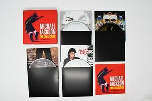 Michael Jackson : The Collection CD Box Set 5 discs (only 4) Missing Thriller CD