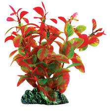 Planta de plástico AquaManta-Ludwigia Rojo 13 Cm