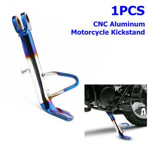 1PCS CNC Aluminum Motorcycle Scooter Kickstand Side Stand Leg Foot Brace Support
