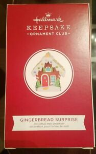 Hallmark Keepsake - 2020 Gingerbread Surprise  21-48