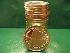1877 Indian Head Copper Rounds 1oz .999 Fine Copper 20 Beautiful Rounds Roll