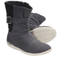 Patagonia Kula Buckle Boot - Womens 7 Ruched Forge Grey