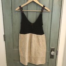 Free People Jumper Cable Knit Dress Size S