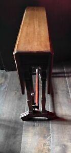 Antique Edwardian Sutherland  Folding Side Table  60cm tall