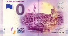 24 LA ROQUE-GAGEAC Village et gabarre, 2019, Billet 0 € Souvenir